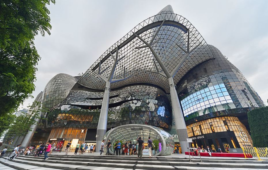 ION Orchard-singapore Image credit: orchard mall singapore blog.