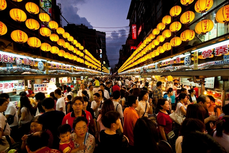 XinJueJiang night market