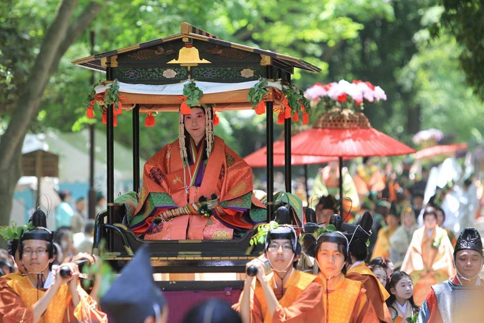 Aoi Matsuri in Kyoto-the world's oldest festival