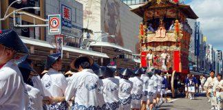 Gion Matsuri Festival in Kyoto, Japan
