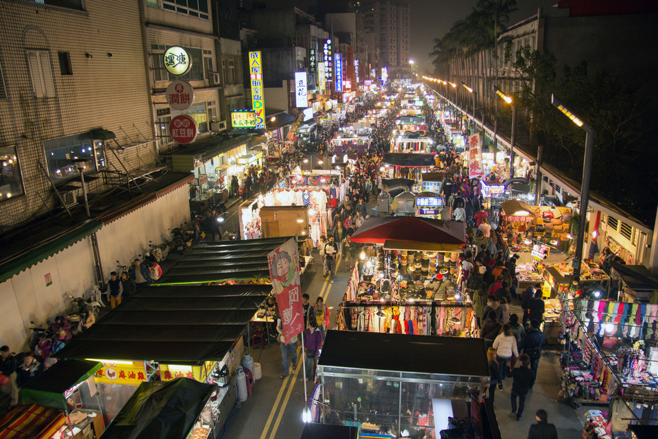 Rueifeng Night Market, Kaohsiung Taiwan