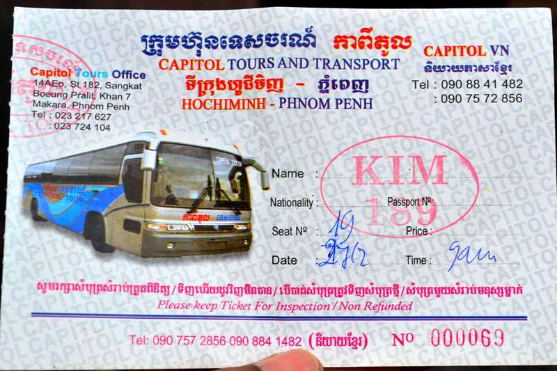 Travel Time From Ho Chi Minh To Phnom Penh