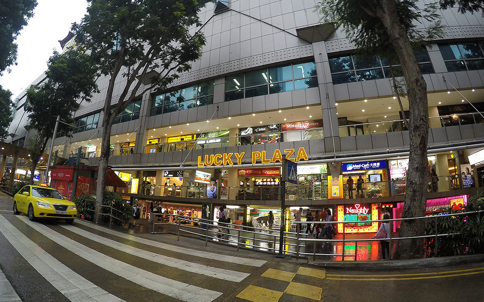 Lucky Plaza at Orchard Road