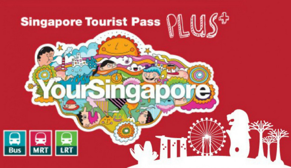 Singapore Tourist Pass Plus card