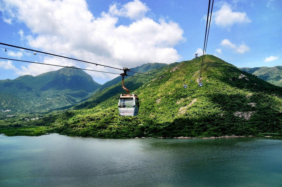 Lantau Island from cable car unique things to do in hong kong hong kong hidden gems hong kong unique experiences