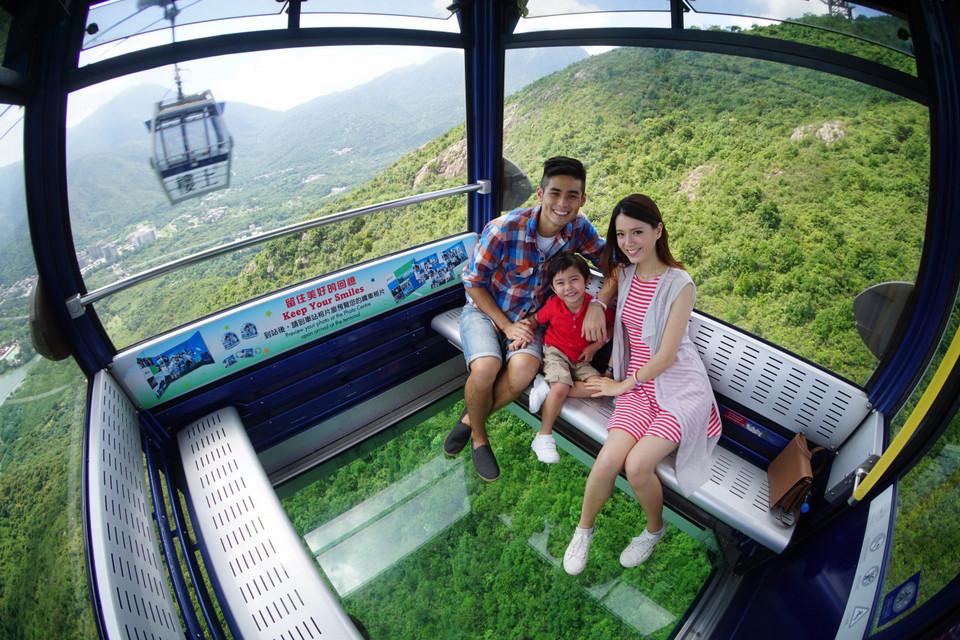 Ngong Ping 360 cable cars