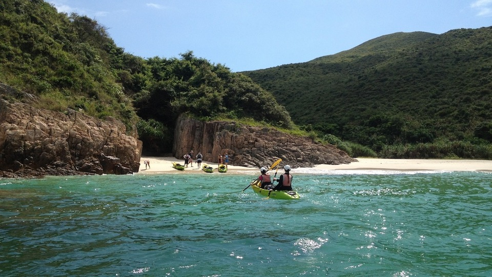 Sai Kung Island Kayaking unique things to do in hong kong hong kong hidden gems hong kong unique experiences