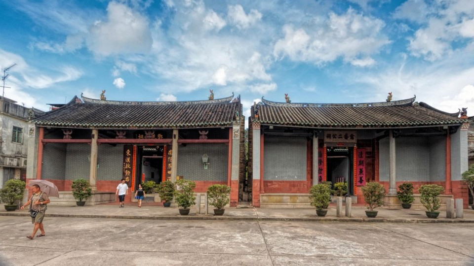 The ancient villages in Ping Shan