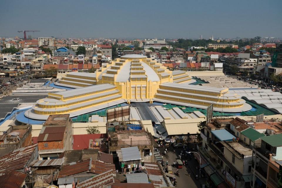 Central Market/New Market in Phnom Penh
