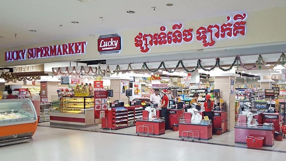 Lucky Supermarket - Siem Reap, Phnom Penh
