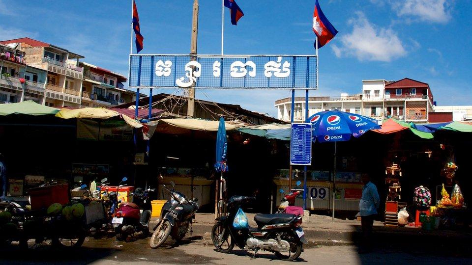 Phnom Penh old market