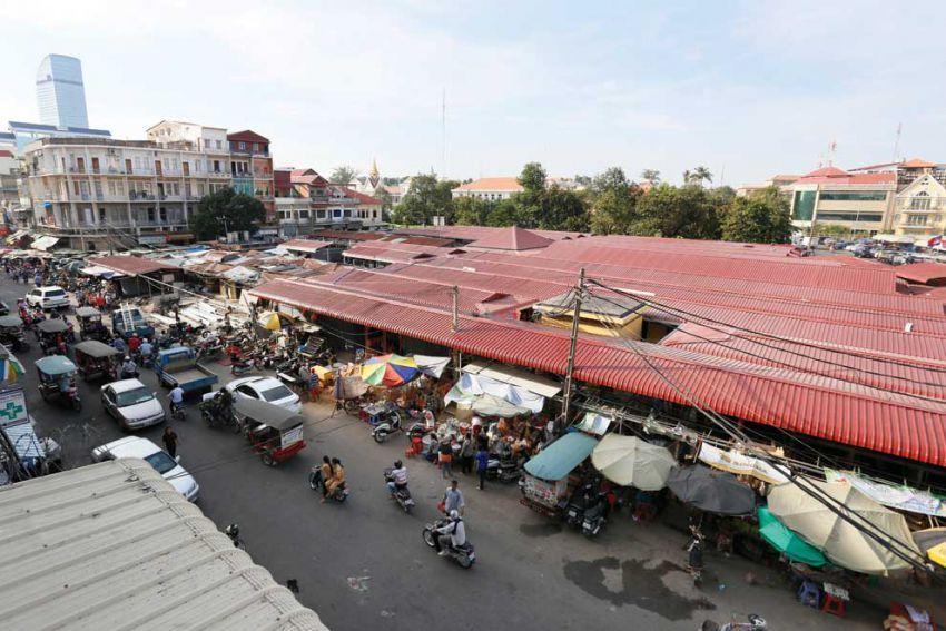 Old market in Phnom Penh