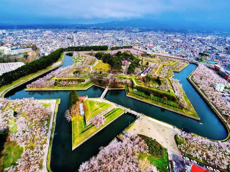 Hokkaido from above