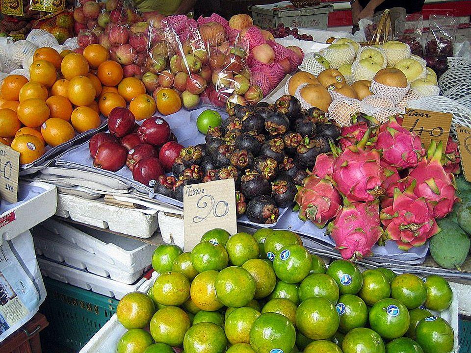 Fruit at Bangrak_Market_Bangkok