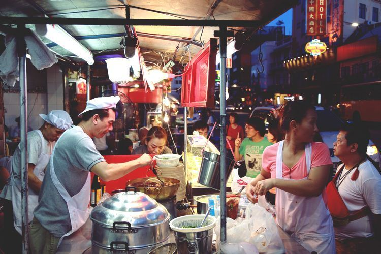 Ratchawat Market Best Street Food In Bangkok Thailand