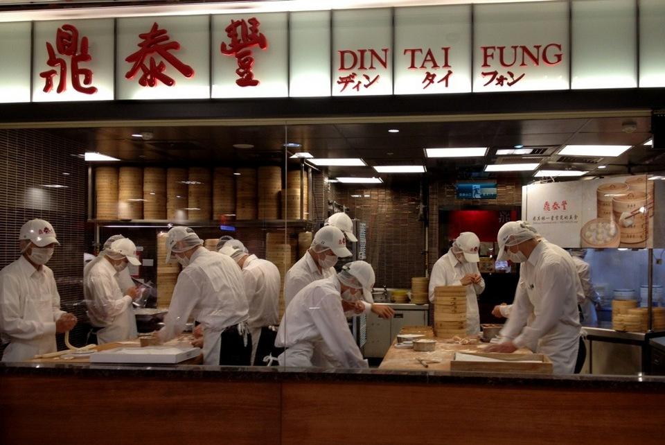 Din Tai Fung restaurant -taipei1