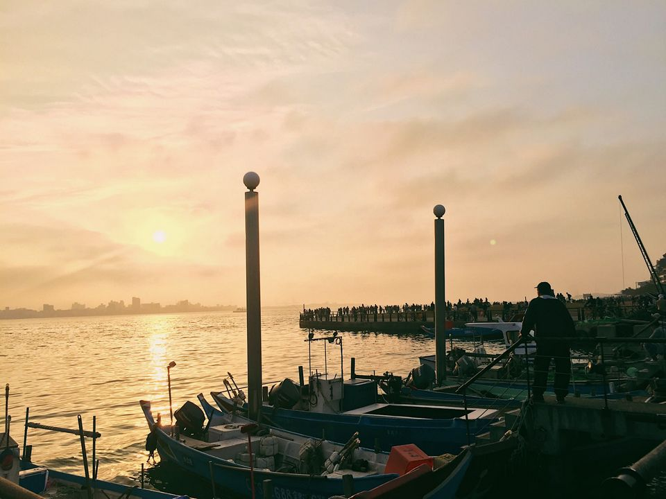 watch sunset-tamsui
