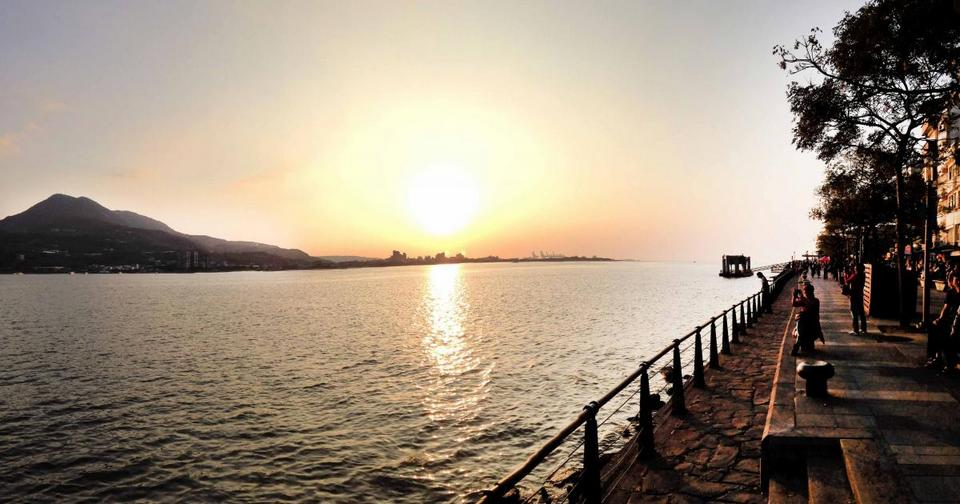 watch sunset-tamsui2