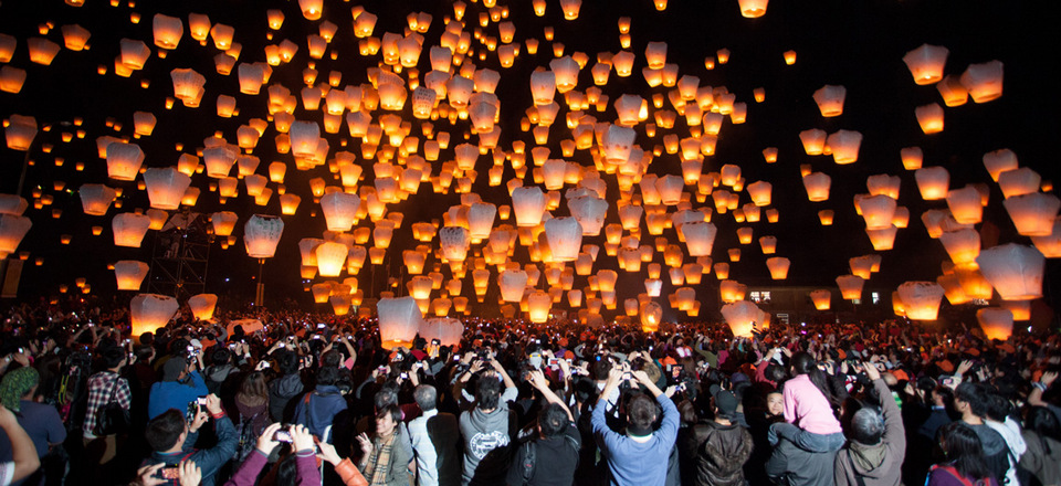 Light Up with Taiwan's legendary Lantern Festivals