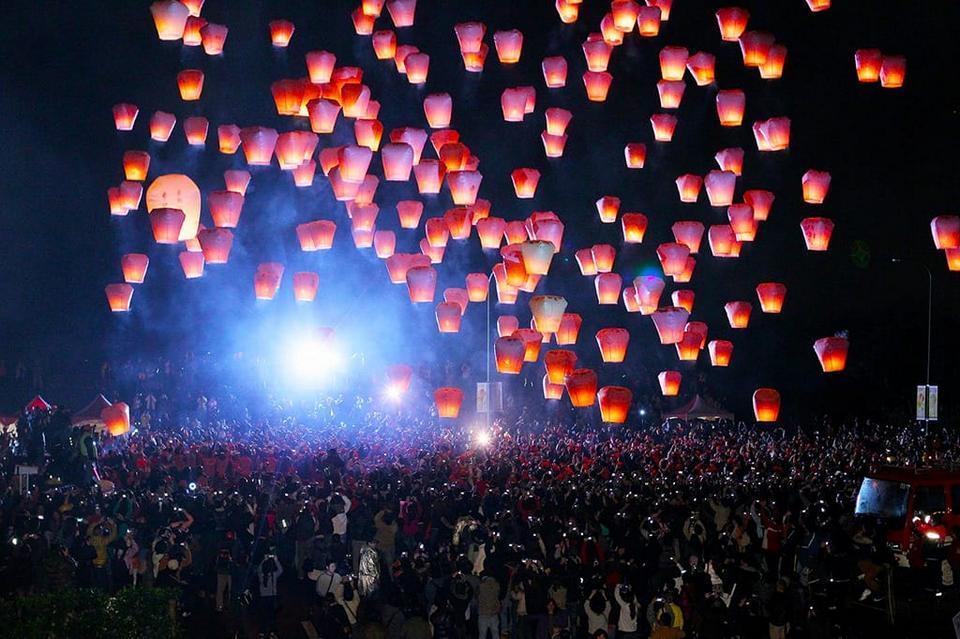 PingXi Sky Lantern Festival taiwan lantern pingxi