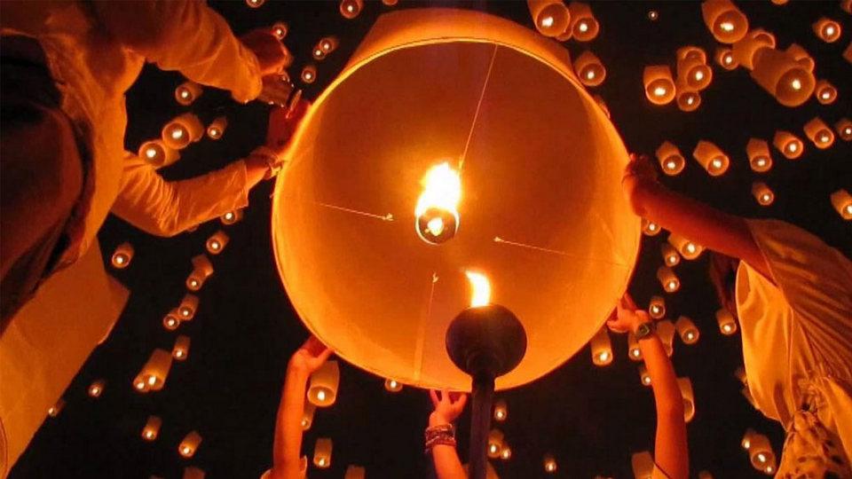 Pingxi Sky Lantern Festival (02 Mar 2018)