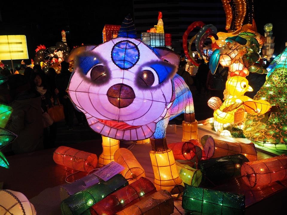 Taipei Lantern Festival Image by: taiwan lantern festival 2018 blog.