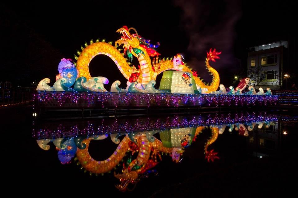 Taiwan Lantern Festival in Chiayi