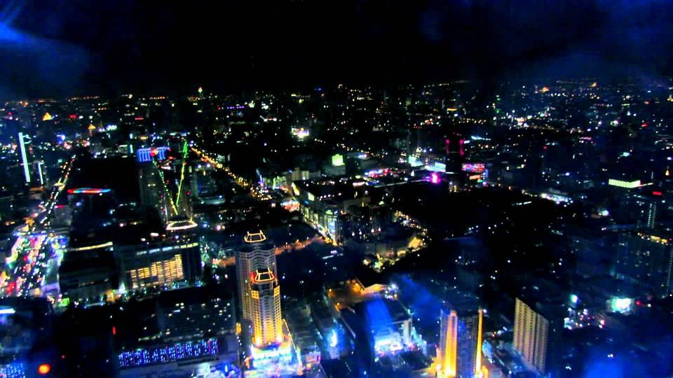 360 Degrees Revolving Rooftop Baiyoke Sky Hotel Bangkok