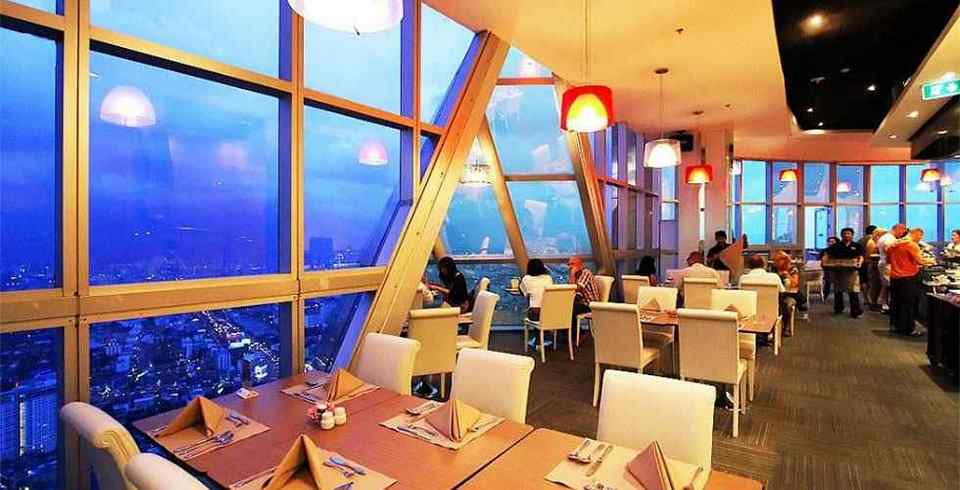 Bangkok Baiyoke Sky Hotel Sky Restaurant