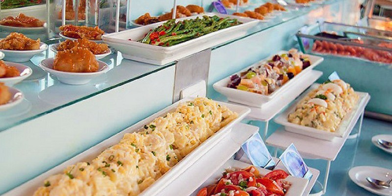 Bangkok Buffet Voucher at Baiyoke Hotel Sky Restaurant, 76th & 78th Floor - Triba East