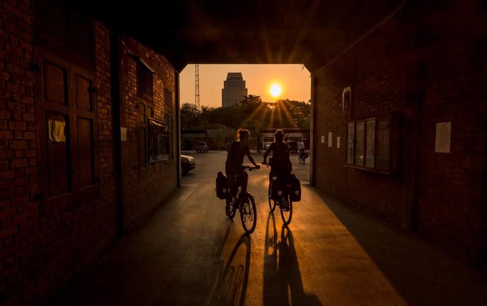 Bangkok Sunset Bike Ride