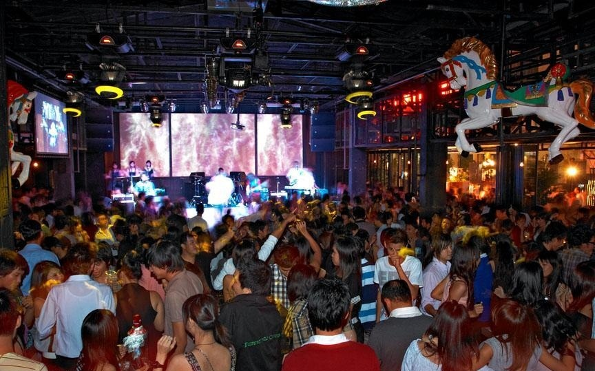 Inside Overnight party_ Route 66 Club