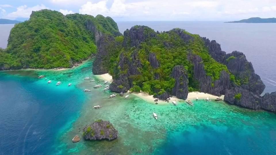 Shimizu Island (El Nido, Palawan) from above