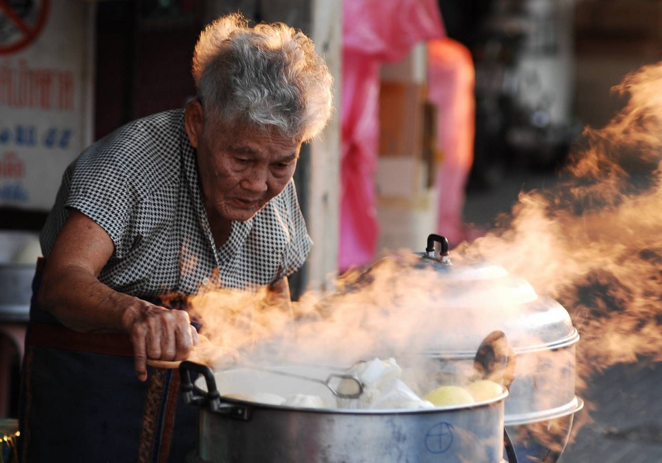 dumplings-60 years old-huahin1 Image by: hua hin food blog.