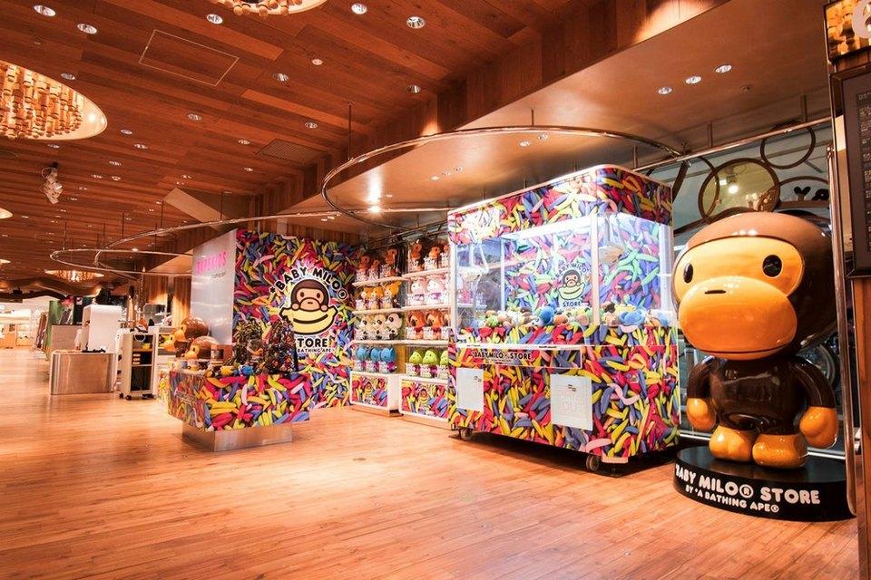 BAPE Opens a Baby Milo Store in Isetan Shinjuku store