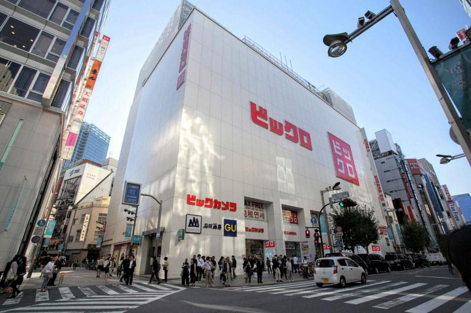 Bicqlo – Bic Camera Shinjuku East Exit Store best shopping malls in tokyo tokyo shopping guide tokyo shopping center shopping area in tokyo