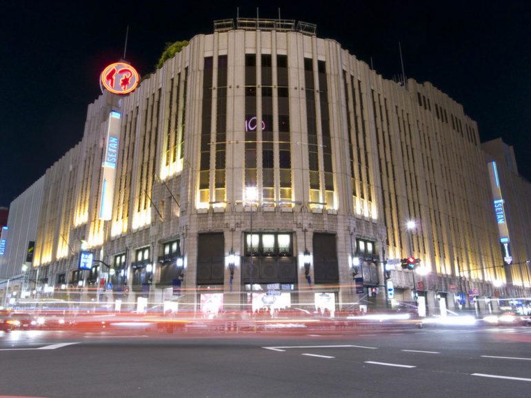 Isetan Shinjuku at night