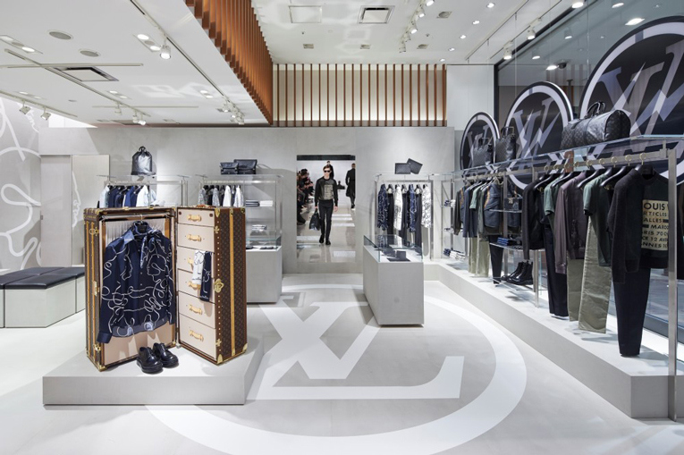 Louis Vuitton pop-up boutique Tokyo at Isetan