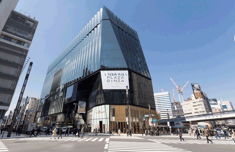 Tokyu Plaza Ginza best shopping malls in tokyo tokyo shopping guide tokyo shopping center shopping area in tokyo