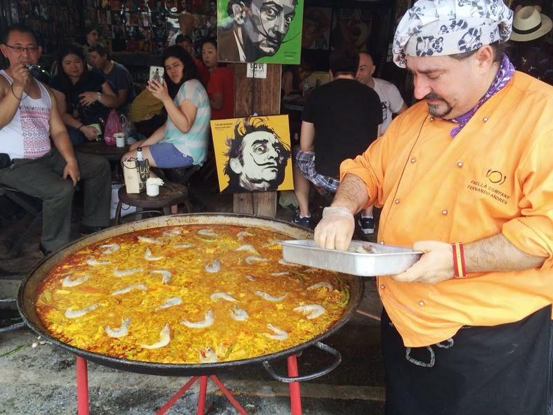 Paella rice chatuchak (4) chatuchak market food chatuchak food guide chatuchak food blog