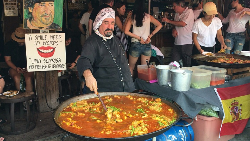 Paella rice chatuchak (5)