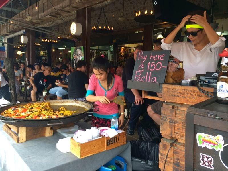 Paella rice chatuchak (7)