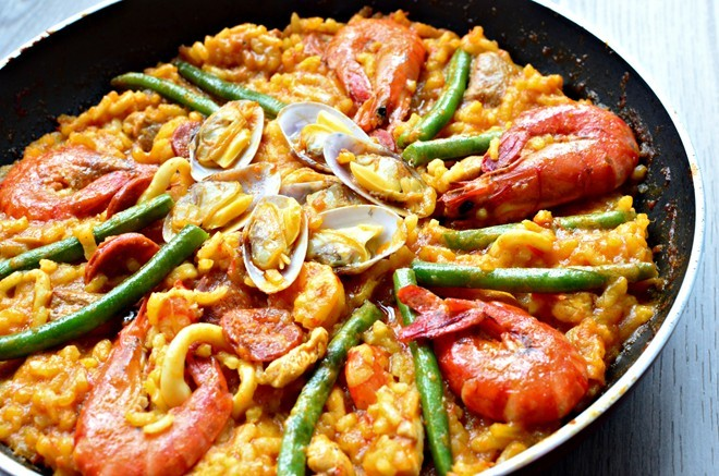 Paella rice chatuchak (8) chatuchak market food chatuchak food guide chatuchak food blog