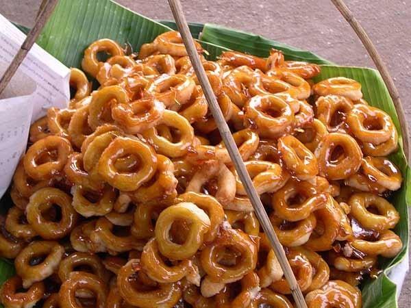 Thai donut cake-chatuchak-thailand