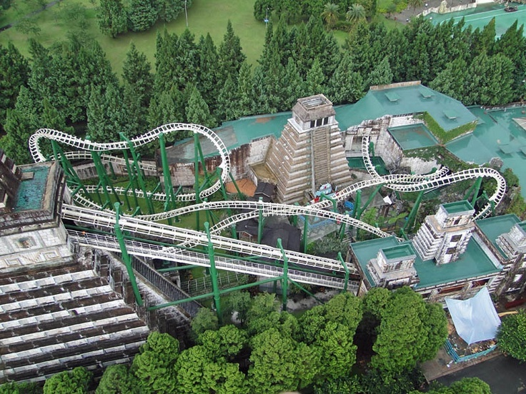 Formosan Aboriginal Culture Village roller-coasters