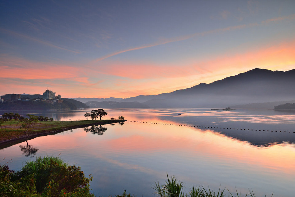 Sunrise at Sun Moon Lake, Taiwan