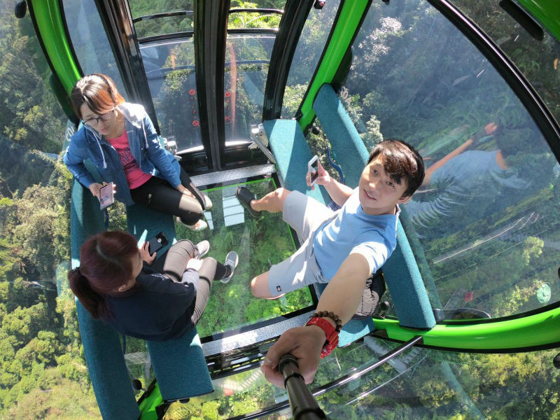 The Sun Moon Lake Ropeway sun moon lake itinerary sun moon lake blog sun moon lake day trip