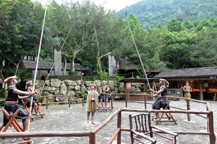 Traditional Game Formosan Aboriginal Culture Village
