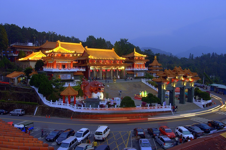 Wenwu Temple at night - Living + Nomads – Travel tips ...