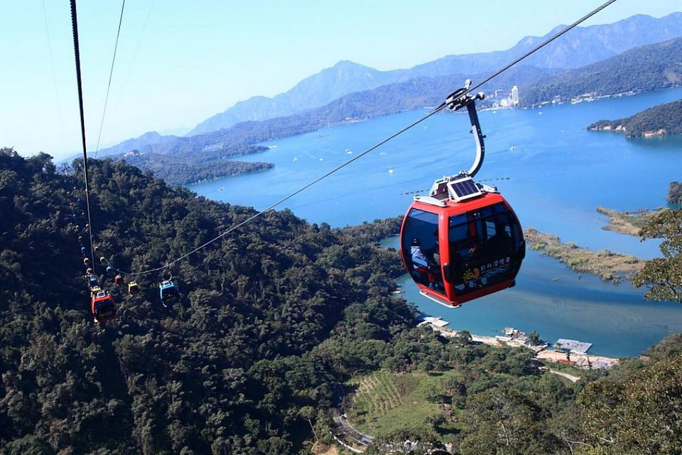 ropeway sun moon lake itinerary sun moon lake blog sun moon lake day trip